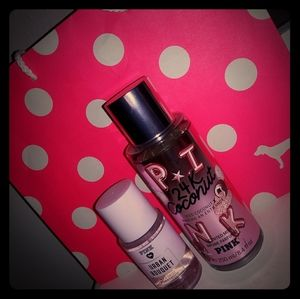 Pink Body Mists with Pink gift bag included ❤